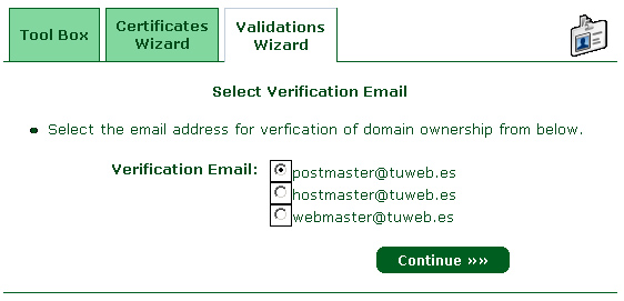Domain Validation